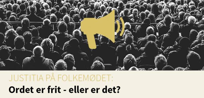 "Folkemøde 2017: ""Ordet er frit – eller er det?"""
