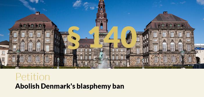 Petition – Abolish Denmark's blasphemy ban