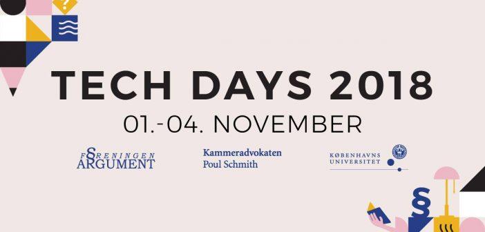 """Arrangement:""""Tech Days 2018″"""