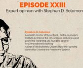 Episode 23 – Expert Opinion with Stephen Solomon
