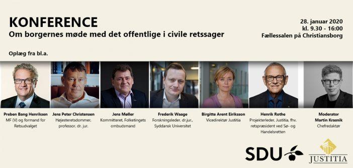 Konference om retshjælp: Borgernes møde med det offentlige i civile retssager